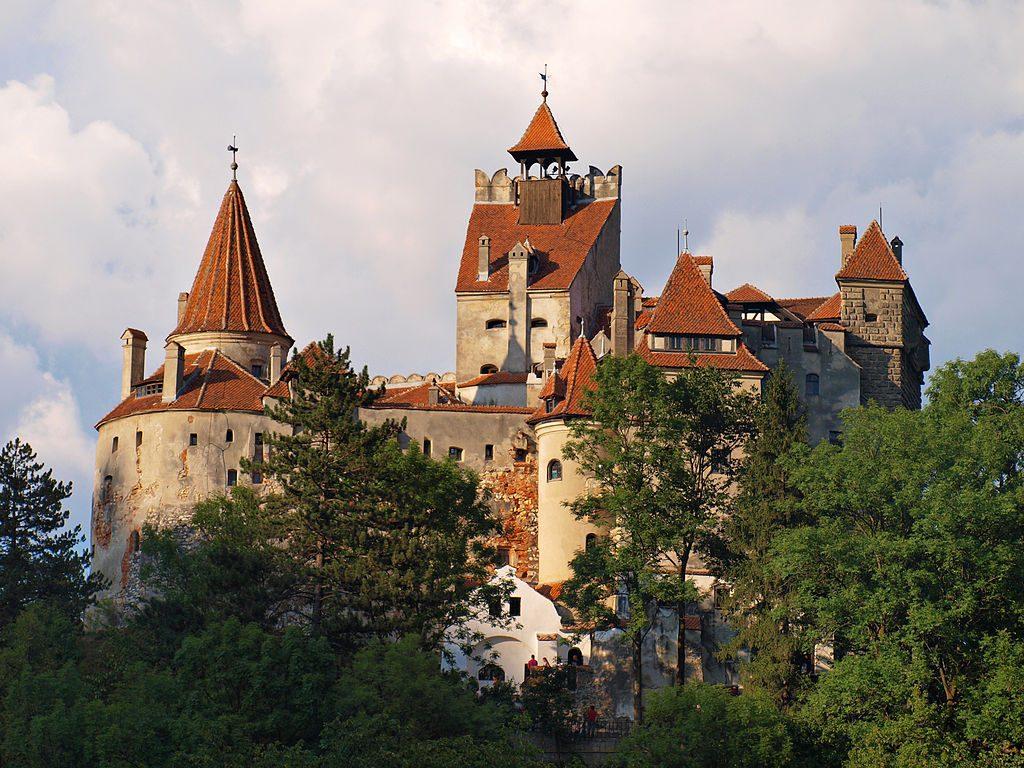 Castillo de Bran en Vlad Rumania