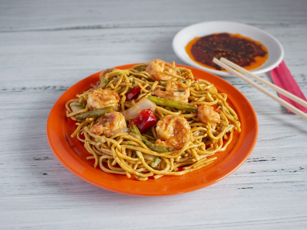 Chow Mein comidas típicas de China