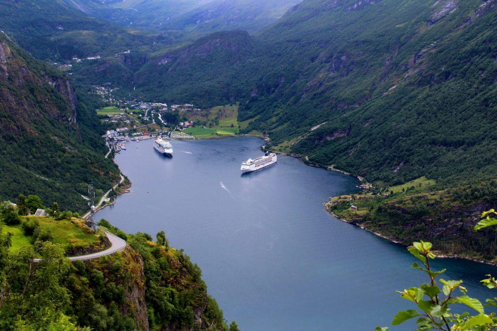 Crucero por los fiordos noruegos
