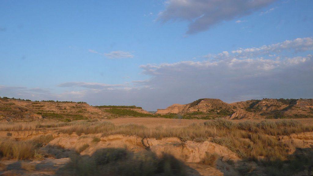Desierto Los Monegros en España
