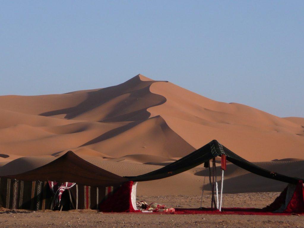 Dormir en el desierto Marrakech