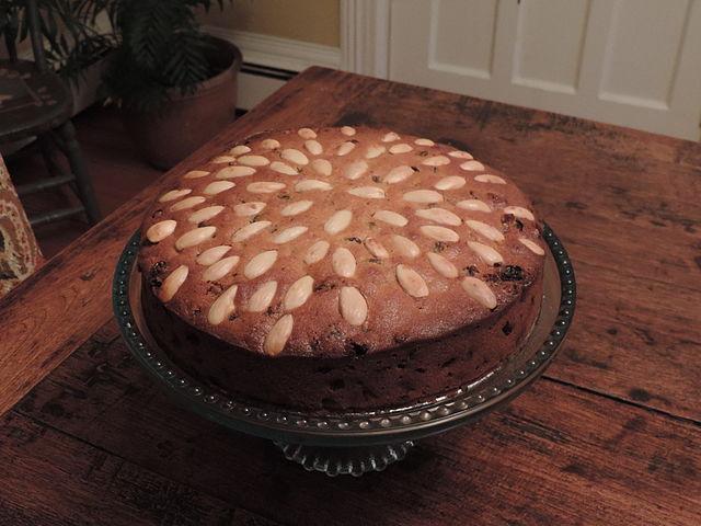 Dundee cake  comidas típicas de Escocia