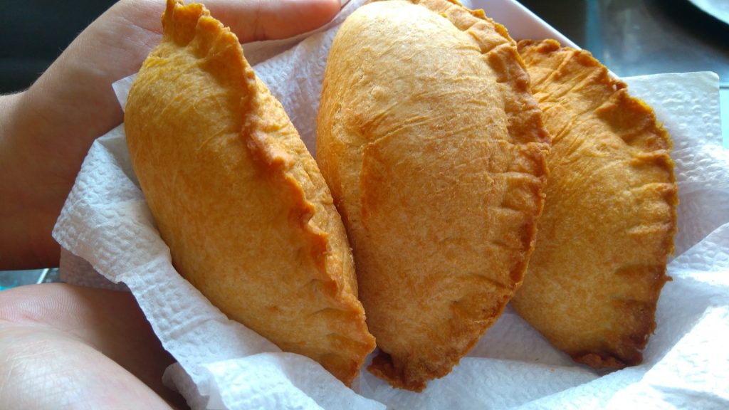 Empanadas comida típica de Colombia