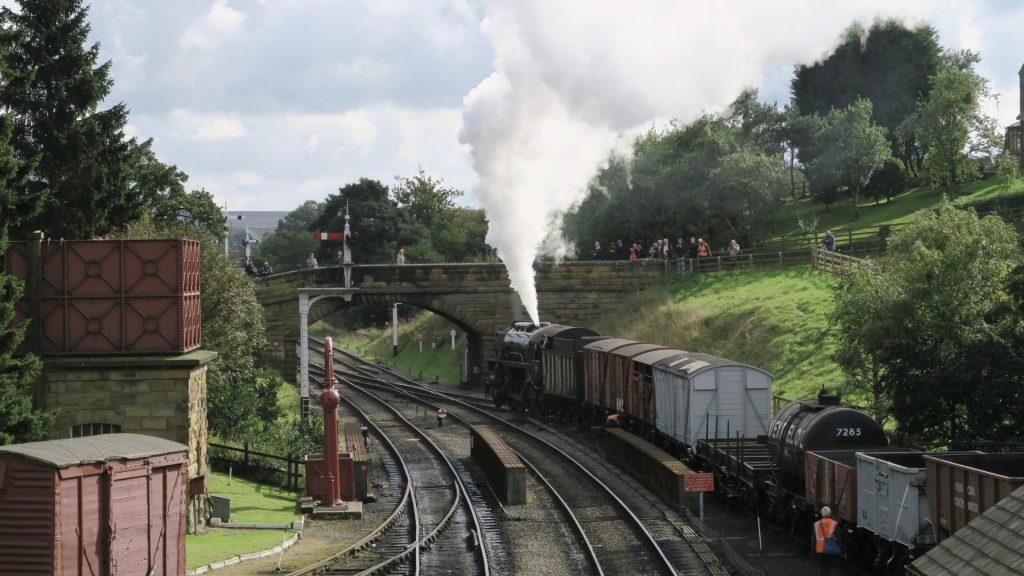 Ferrocarril en Escocia