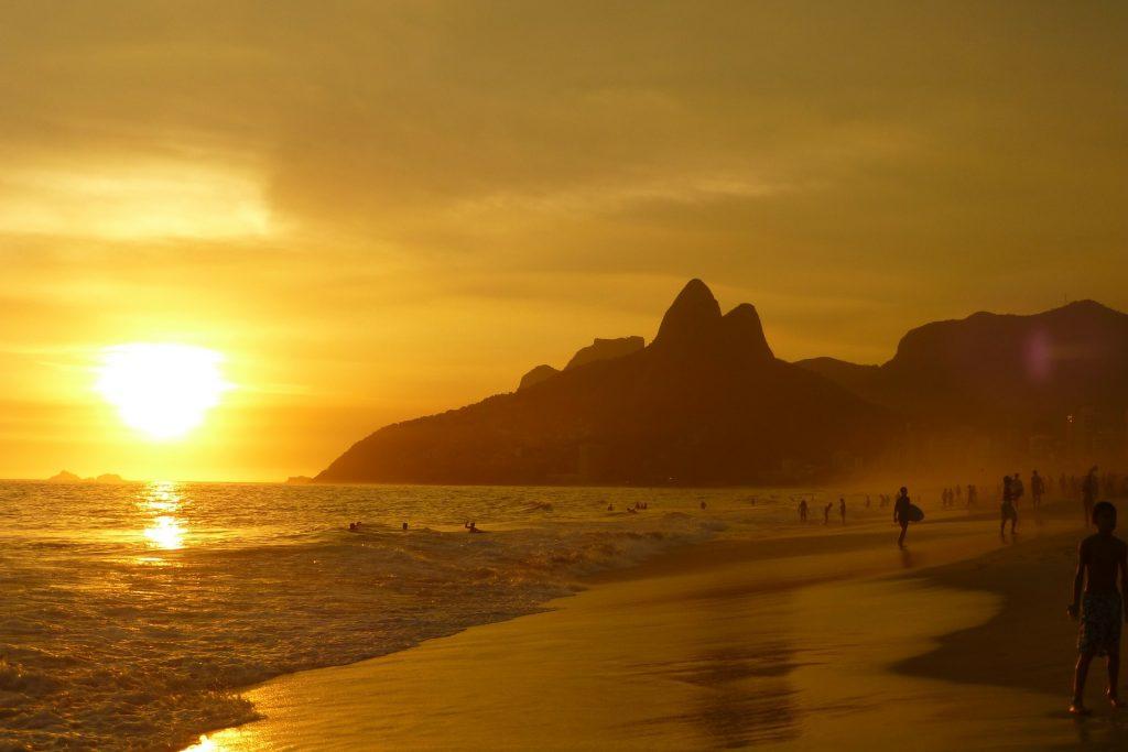Ipanema playas de Brasil