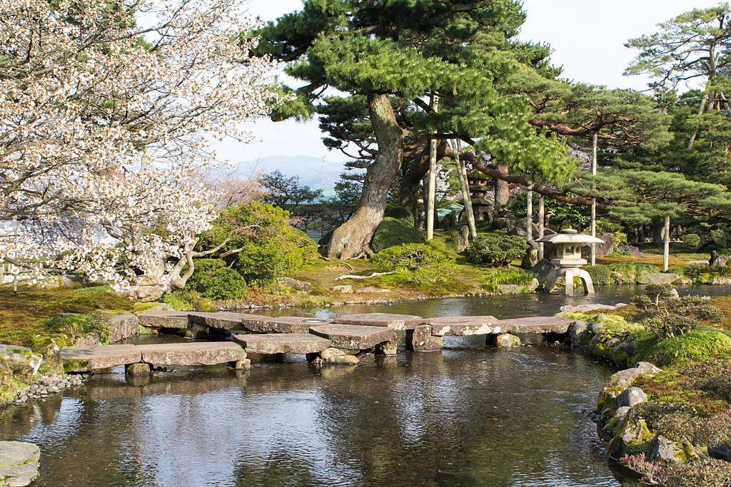 Jardín Kenroku Kanazawa Japón