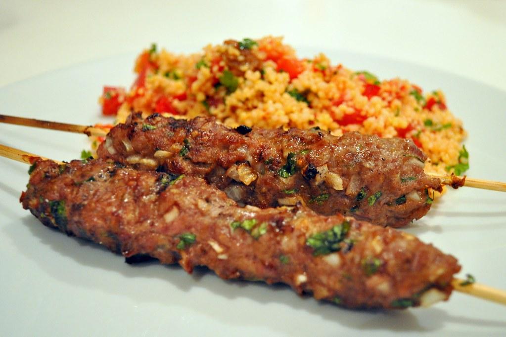 Kefta comida típica de Marruecos