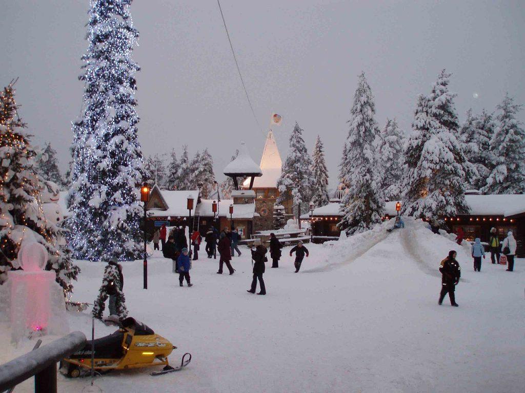 Laponia en Finlandia viajar con niños