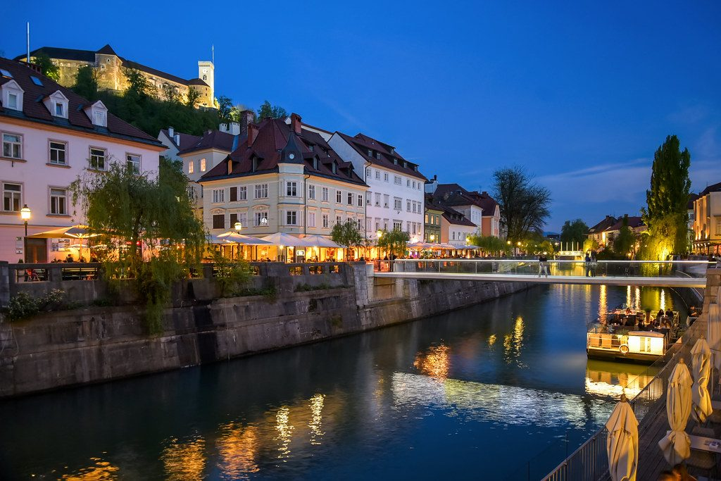 Ljubljana en Eslovenia