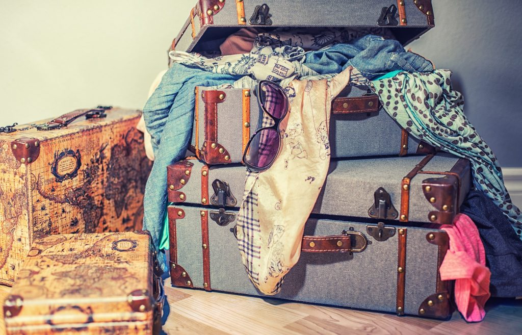 Cómo ahorrar espacio en la maleta