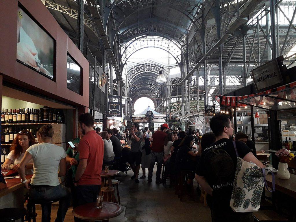 Mercado de San Telmo en Argentina