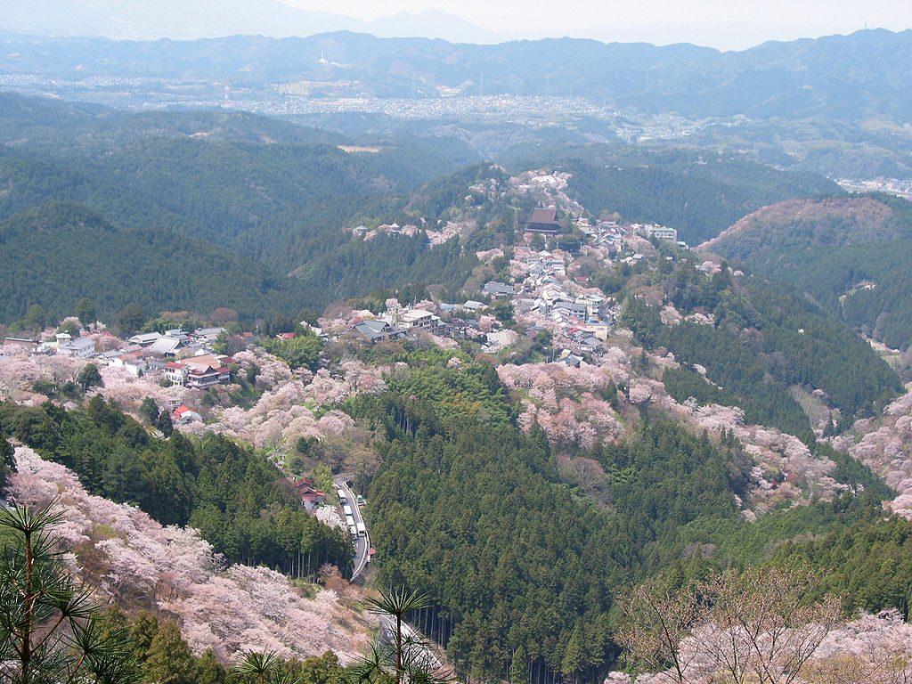 Monte Yoshino en Nara Japón