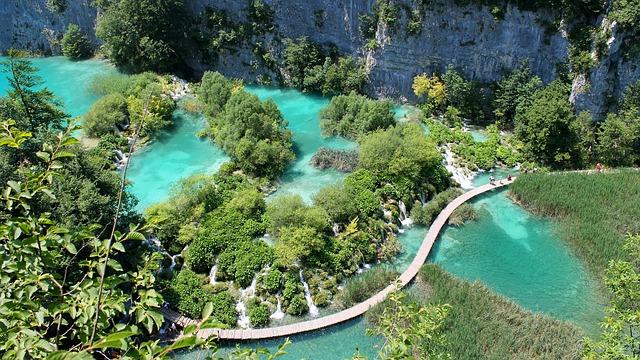 Parque Nacional de los lagos de Plitvice Croacia