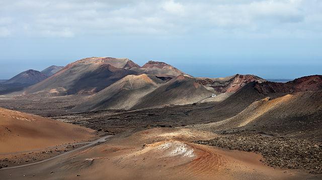 Parque Nacional del Timanfaya Lanzarote, España