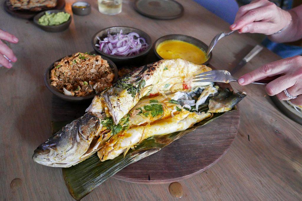 Patarashca comida típica de Colombia