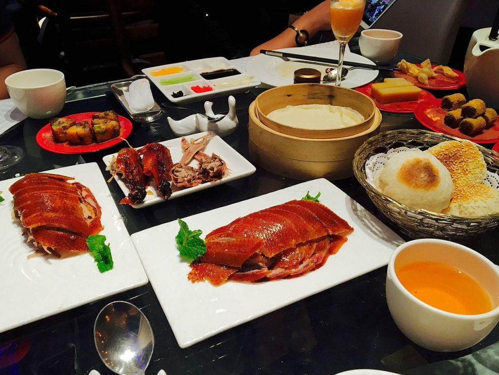 Pato Pekinés Comida típica de China