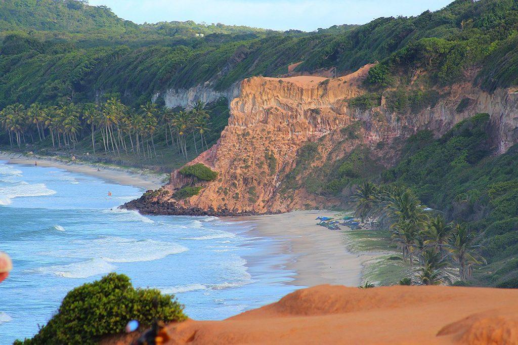 Praia do Amor en Pipa playas de Brasil