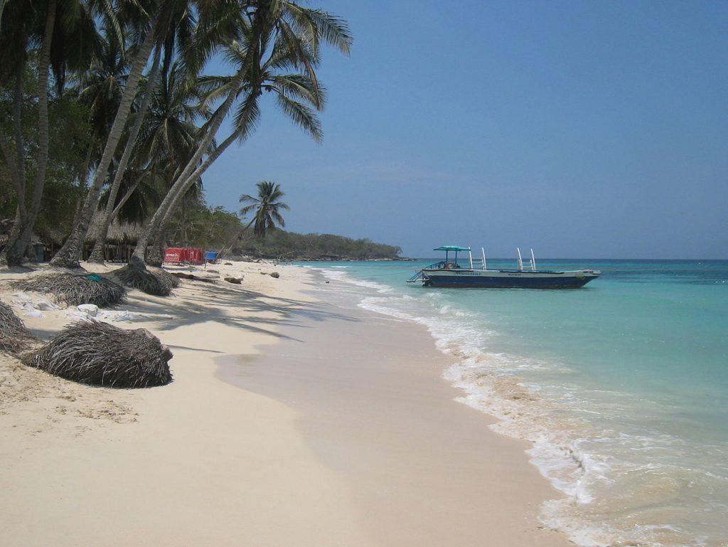 Península de Baru playas de Colombia