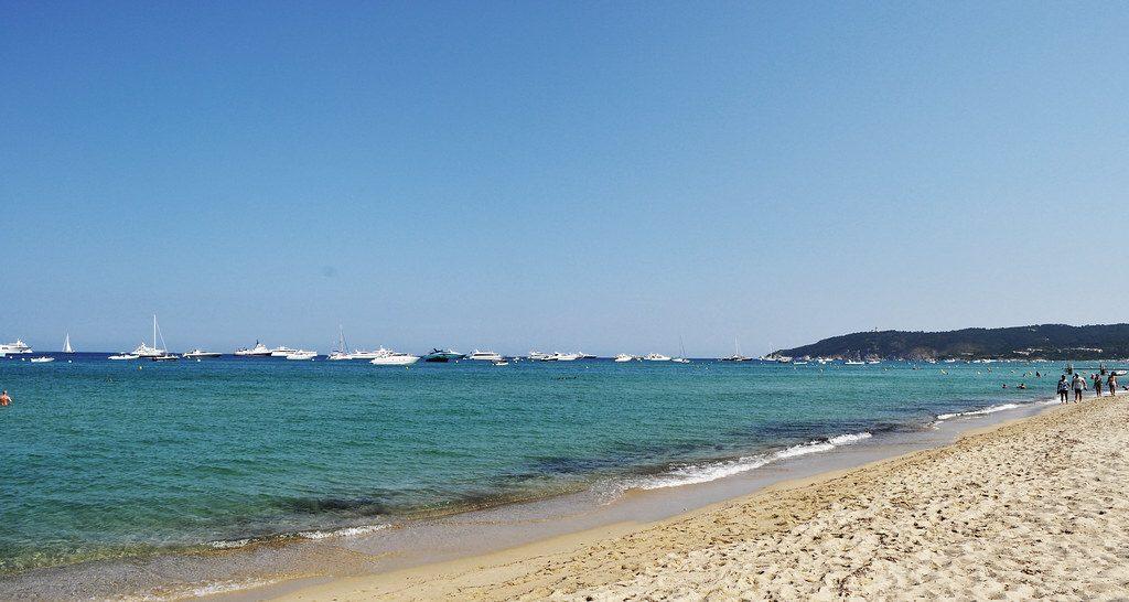 Playa Pampelonne Ramatuelle Francia