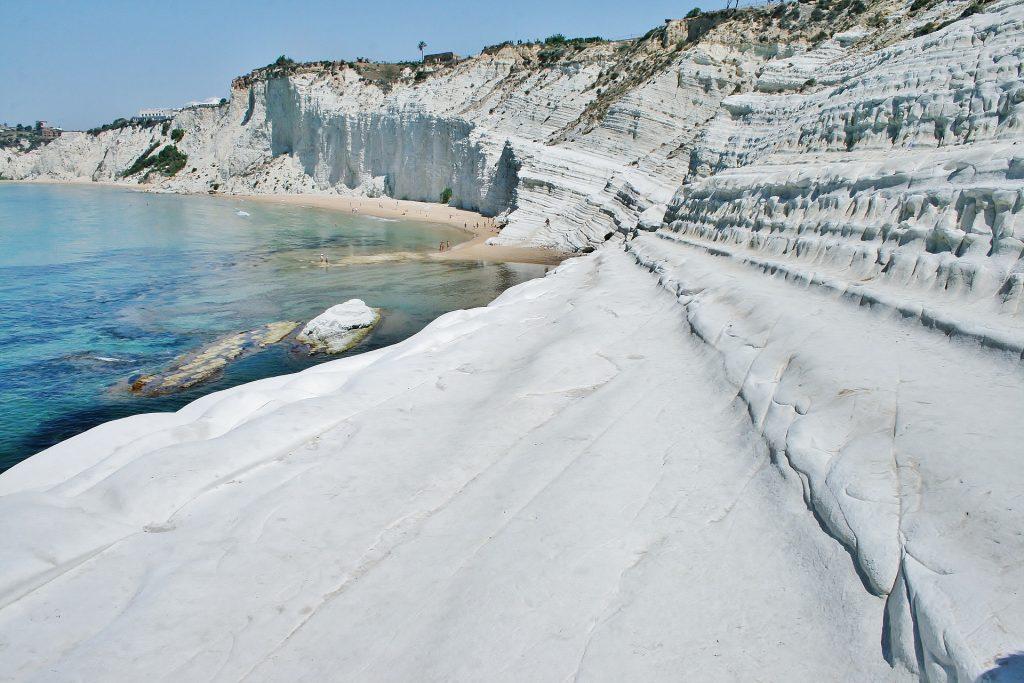 Playa de Scala dei Turchi en Sicilia, Italia mejores playas de Europa
