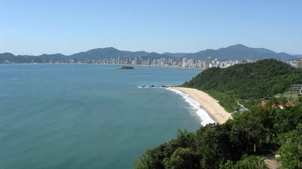 Praia Central balnario Camboriu Playas de Brasil
