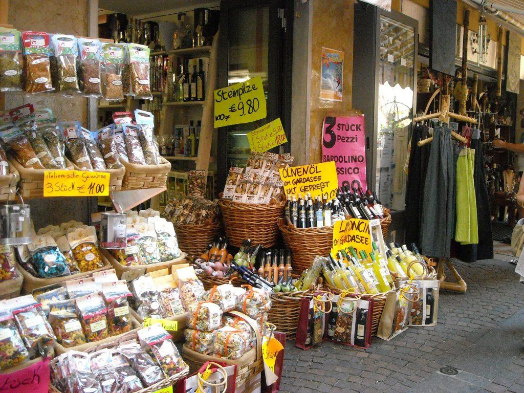 Productos gastronómicos qué comprar en Italia