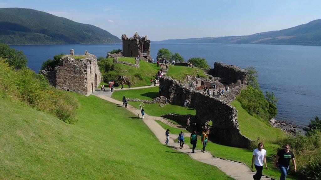 Ruinas en Escocia