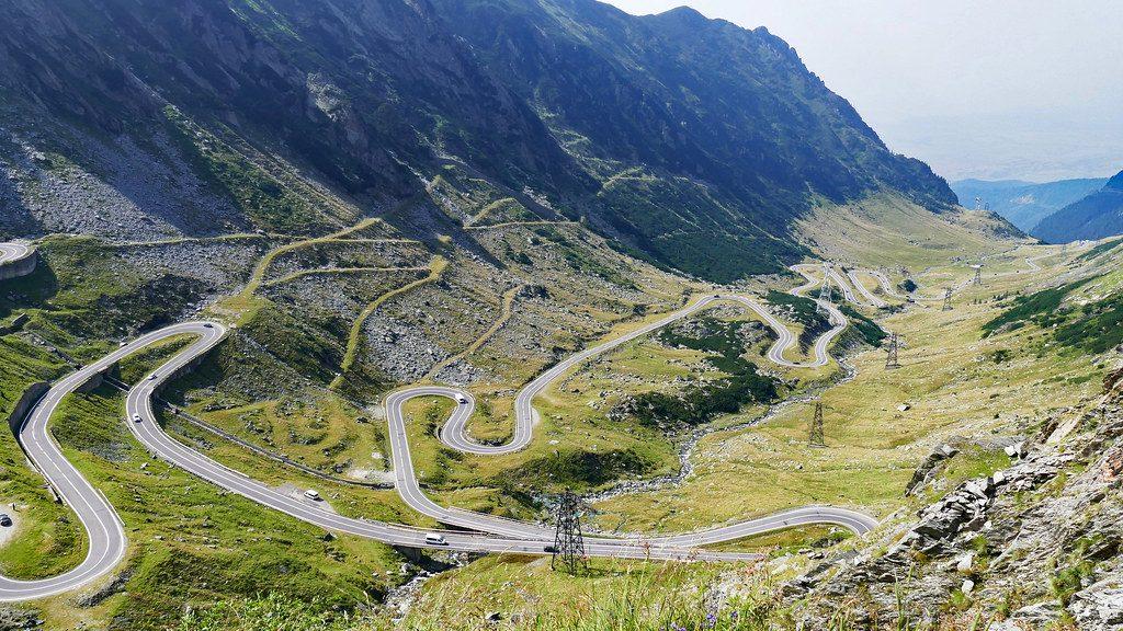 Ruta Transfagarasan en Rumania