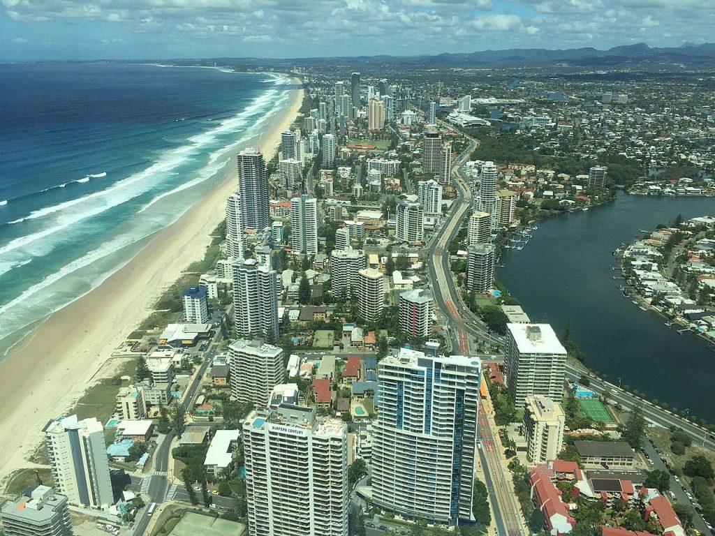 Surfers Paradise playas de Australia
