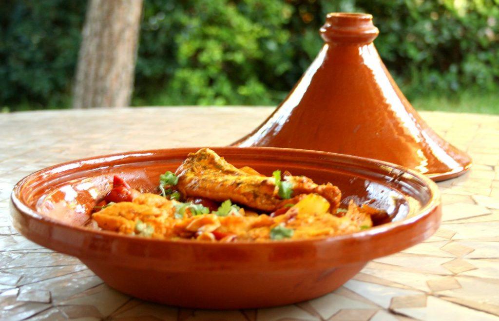 Tajine comida típica de Marruecos