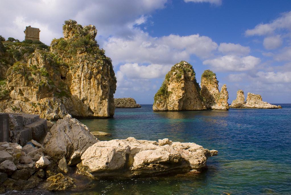 Tonnara di Scopello Sicilia en Italia