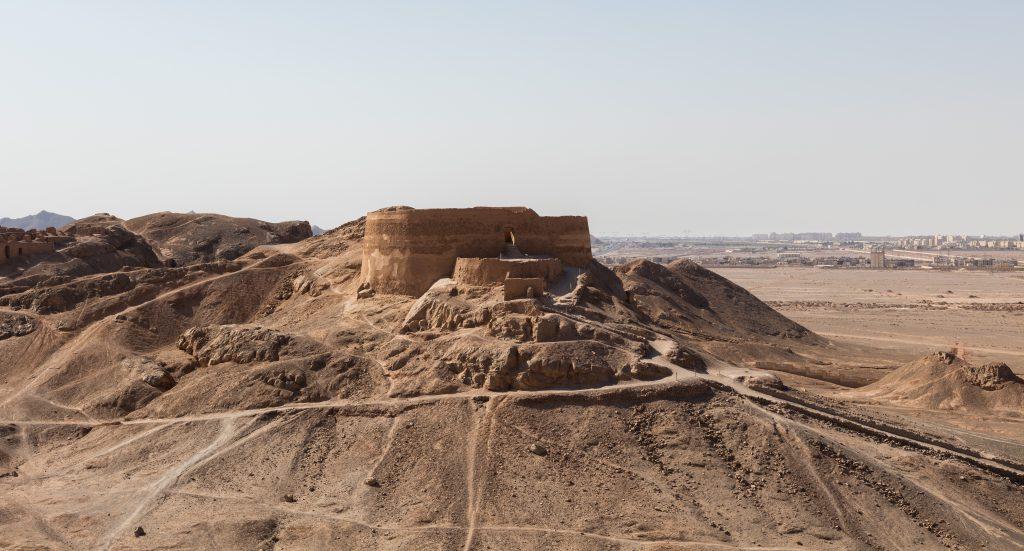 Torre del Silencio Yazd Irán