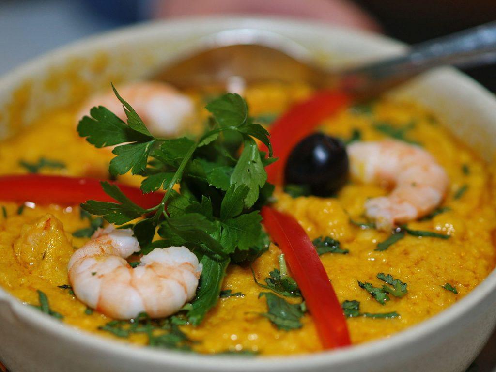 Vatatpá  comida típica de Brasil