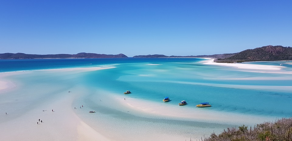 Whitehaven Beach playas de Australia