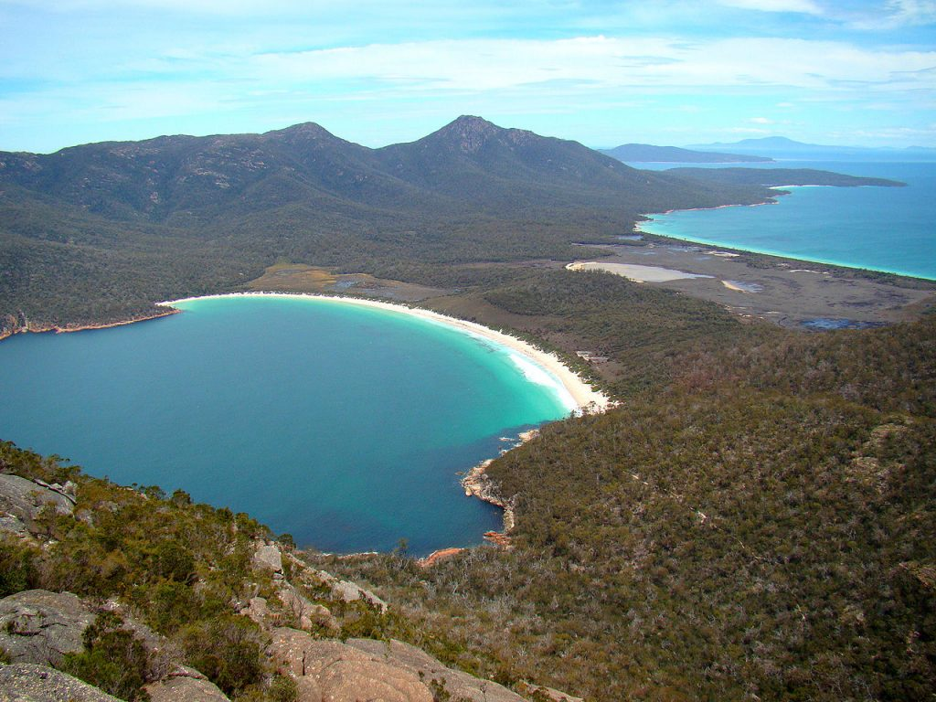 Wineglass Bay playas de Australia