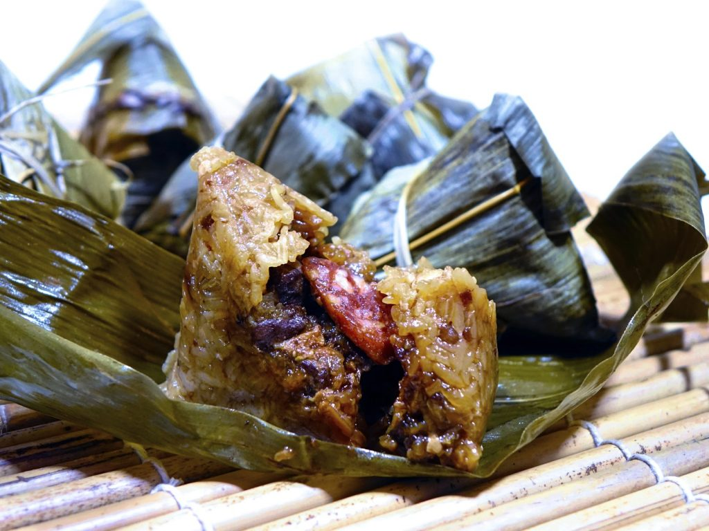 Zongzi comidas típicas de China