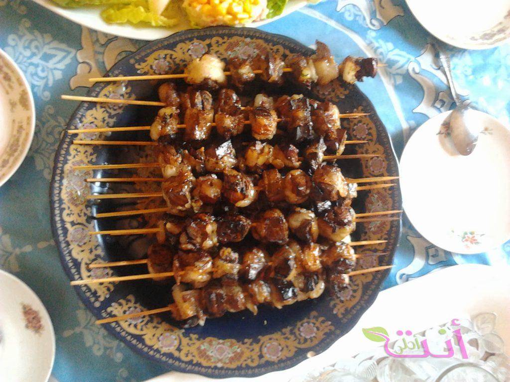 boulfaf comida típica de Marruecos