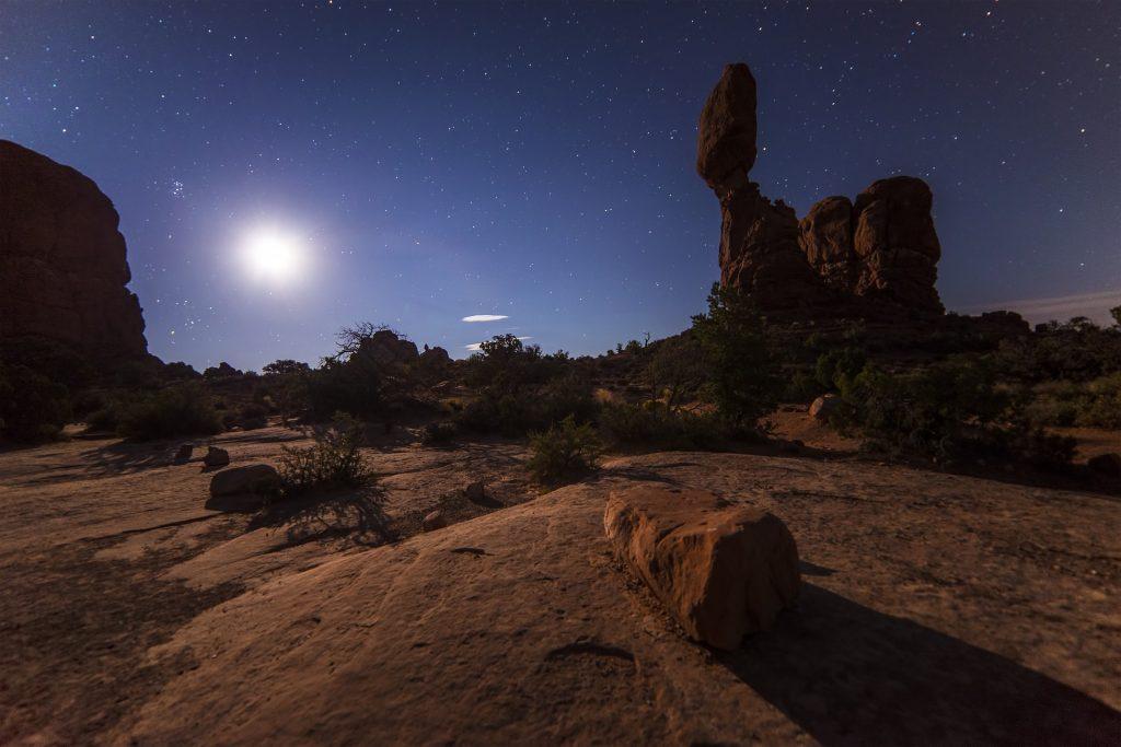 noche en el desierto de Marrakech
