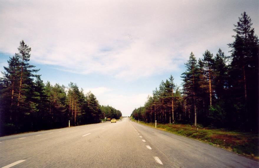 ruta desde Sundsvall a Estocolmo