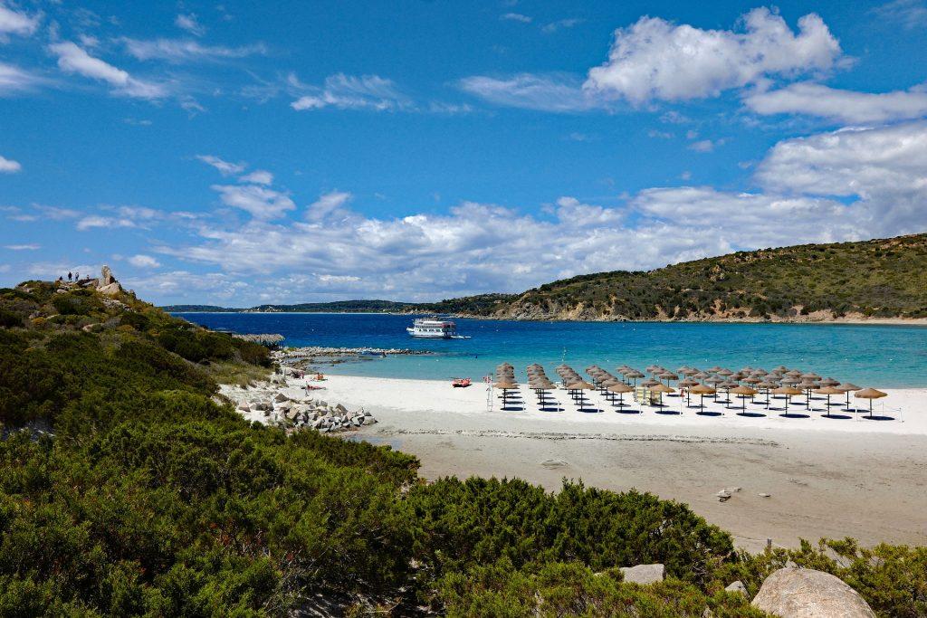 playa Cerdeña en Italia