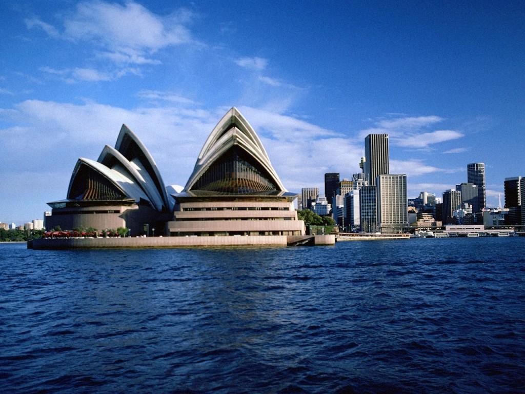 Opera House in Sidney, Australia