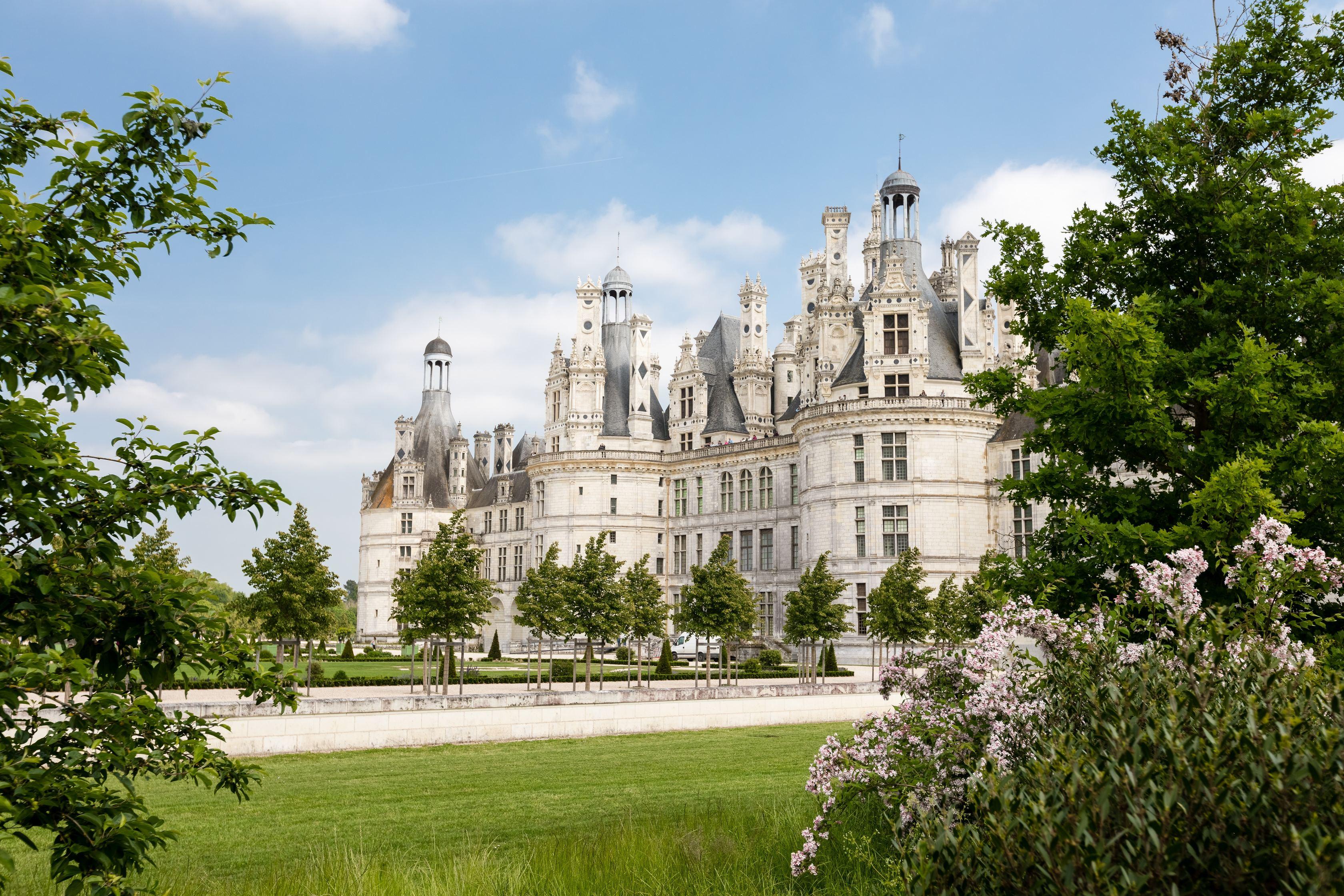 Castillos del Loira en Semana Santa
