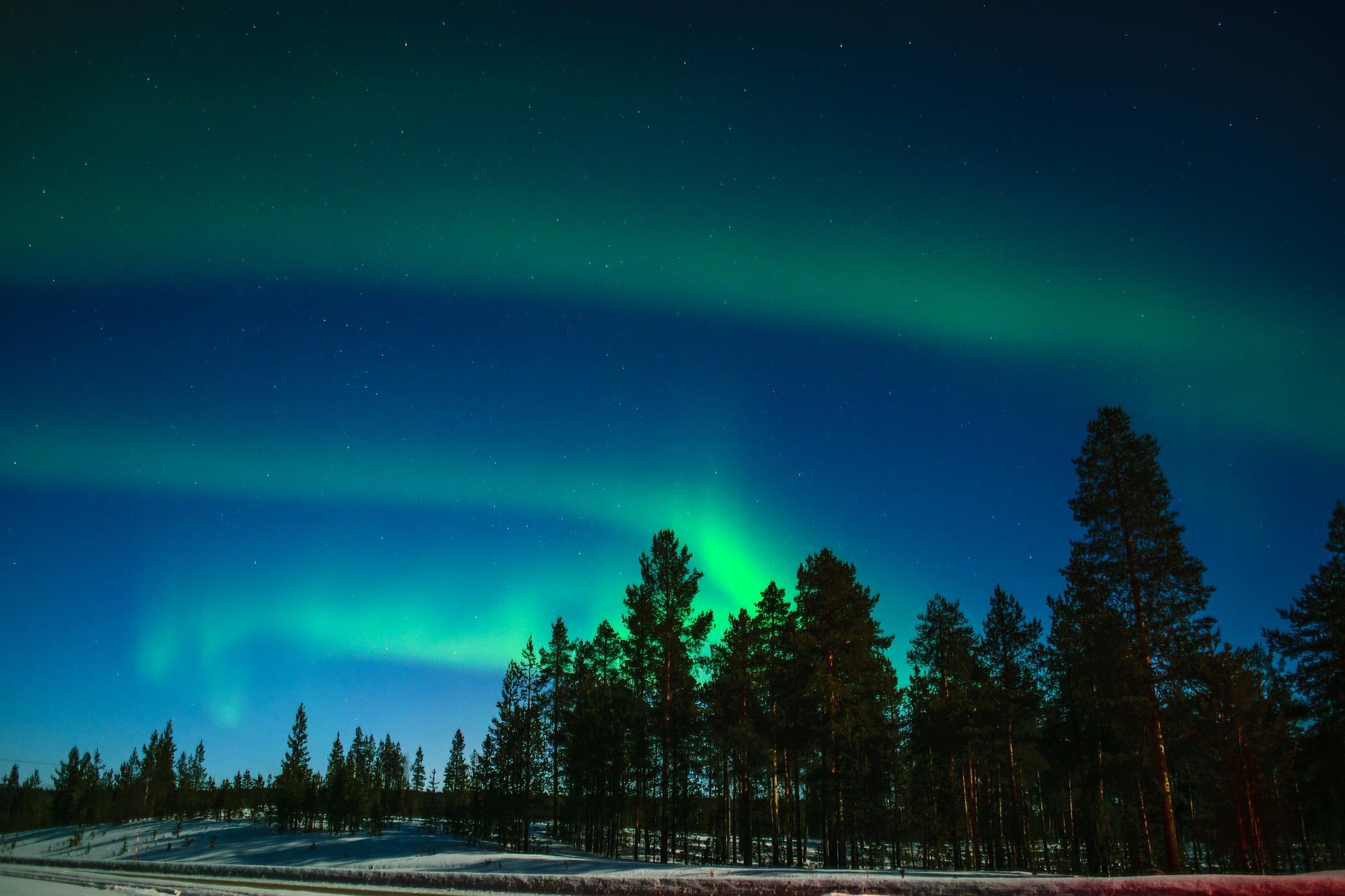 Puente de diciembre: Laponia en familia