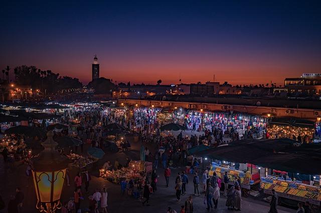 Puente de diciembre en Marrakech