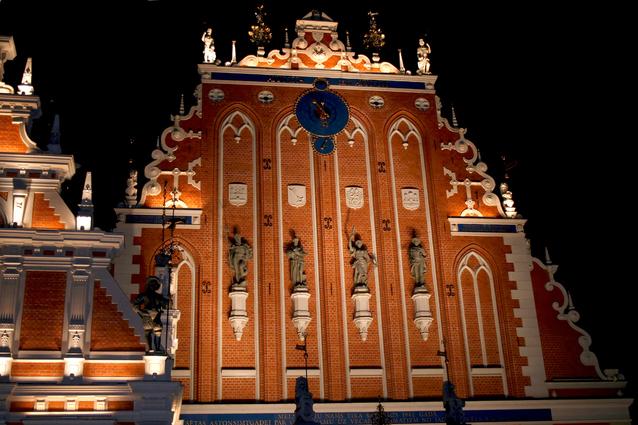 Fin de año en Riga (Letonia)