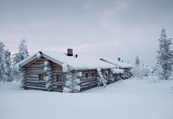 Fin de año en Laponia con visita a la casa de Papá Noel y actividades (motos de nieve, trineo de perros, raquetas, ...)
