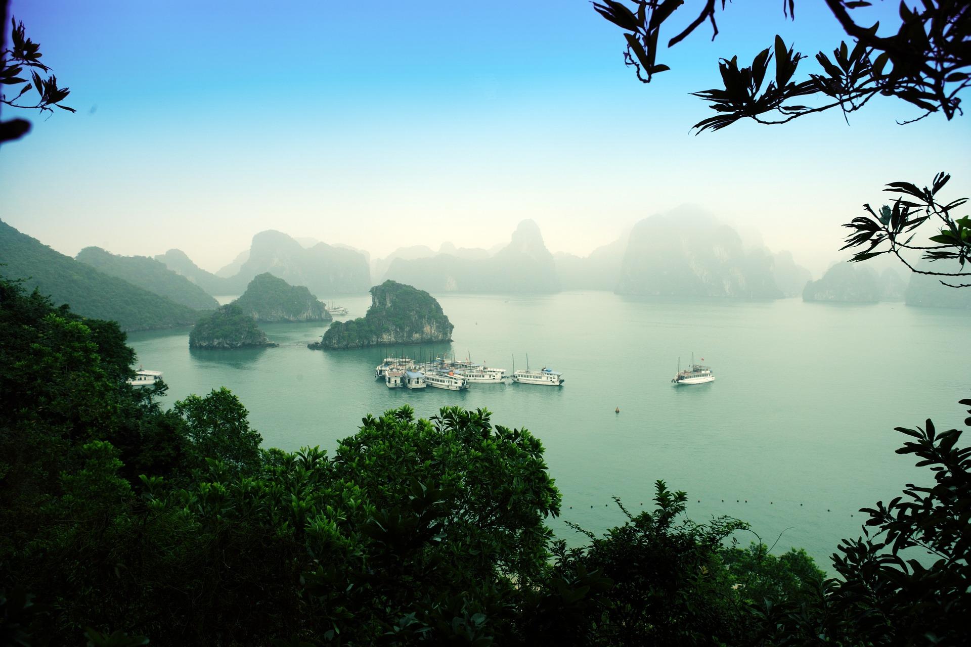 Norte de Vietnam y Triángulo de Oro de Tailandia