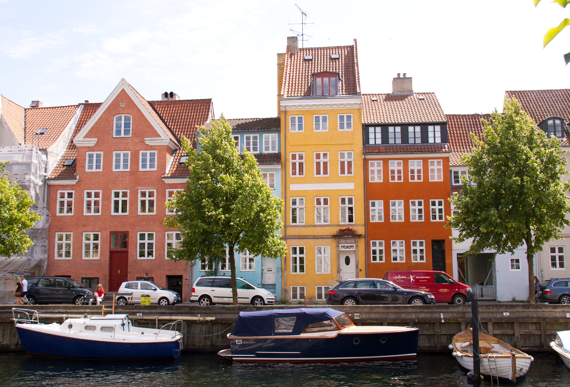 Suecia y Dinamarca al completo en grupo